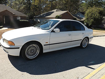 BMW  5Series M Sport Package White 1999 BMW 528i E39  Cars for Sale