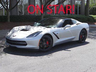 Chevrolet : Corvette 2dr Stingray Coupe w/1LT Chevrolet Corvette 2dr Stingray Coupe w/1LT New Manual Gasoline 6.2L 8 Cyl BLADE