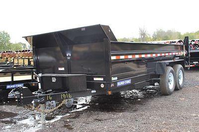 2015 Novae Sure-Trac 7' x 16' Dump Trailer 14K HD