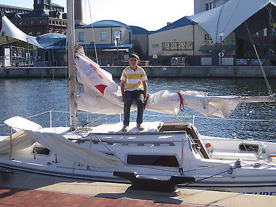 Nice Well Kept Sail Ready Catalina C25 Pop Top Nissan 9.9 HP      *Special $2695