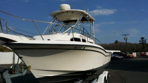 2001 Grady White 248 Voyager, Twin 150hp Yamaha engines - $43,990 (Rockland, MA)