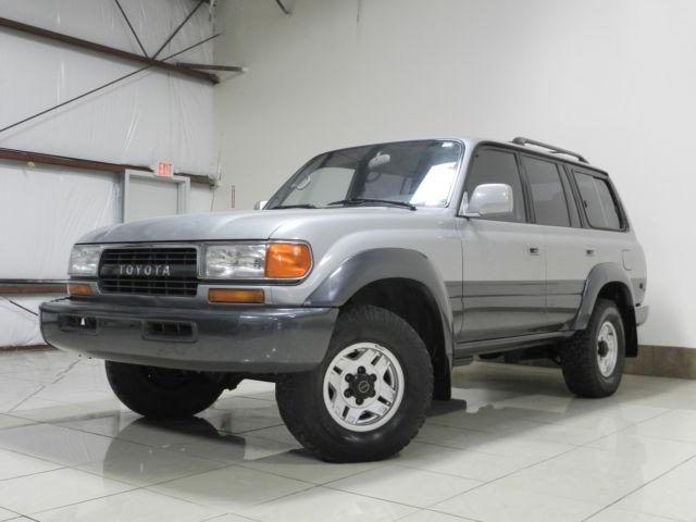 Toyota : Land Cruiser LAND CRUISER HARD TO FIND TOYOTA LAND CRUISER 4x4 LOADED SUNROOF 3RD ROW ROOF RACK