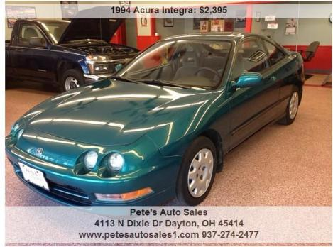 1994 Acura Integra LS 2dr Coupe Only 126k Miles, Fresh Trade in! Clean