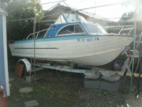 Starcraft 18 Chieftain trade for 22 ft Chieftain plus cash.