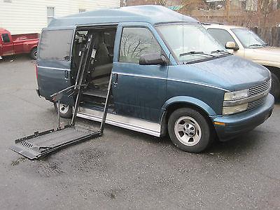 Chevrolet Astro Conversion Chevy Van Wheelchair Low Miles Rust Free Florida Vehicle