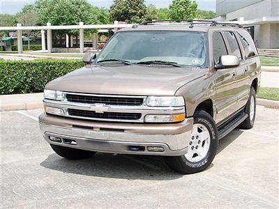 Chevrolet : Suburban 4dr 1500 4WD LT CHEVY SUBURBAN LT 4X4 BRAND NEW TIRES 3RD ROW SEATS RUNS GREAT!