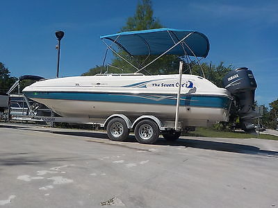 2006 HURRICANE SD 231 CENTER CONSOLE FUN DECK SPORT PARTY BOAT YAMAHA 4-STROKE