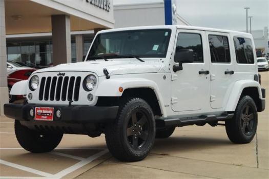 2015 Jeep Wrangler Unlimited Sport Utility Wrangler X