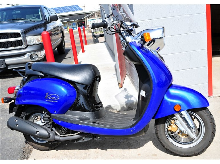 yamaha vino 125 yj125 motorcycles for sale. Black Bedroom Furniture Sets. Home Design Ideas