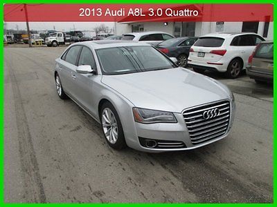 Audi : A8 L 3.0T 2013 l 3.0 t used 3 l v 6 24 v automatic awd sedan premium bose 1 owner clean carfax