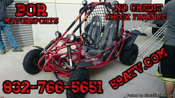 2 Go Karts Motorcycles For Sale