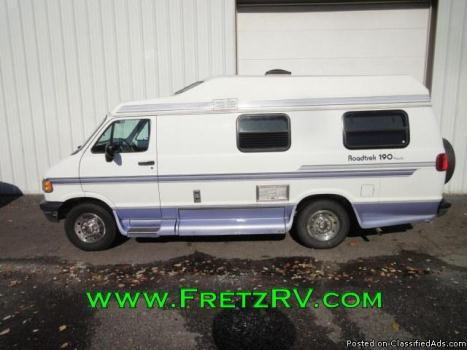 1996 Roadtrek 190 Popular B Camper Van RV Great Starter!
