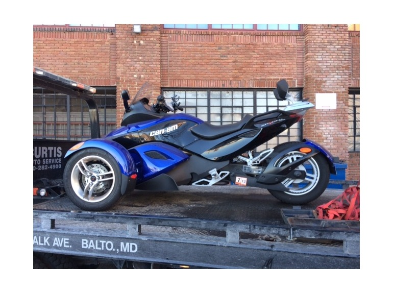 2010 Can-Am Spyder RS SE5