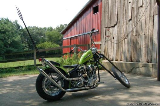 1950 Custom Built Motorcycles Chopper