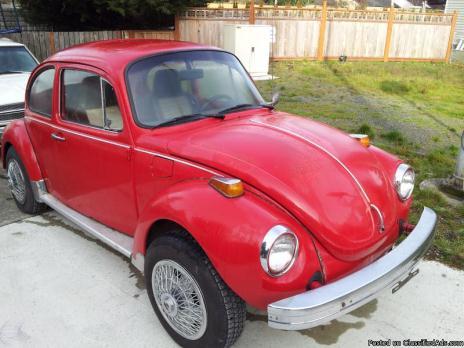 1974 vw super beetle cars for sale. Black Bedroom Furniture Sets. Home Design Ideas