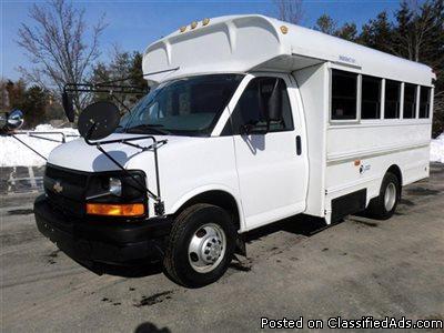 2006 Chevrolet Corbeil MFSAB 14 Passenger Shuttle Bus For Church School Tour...