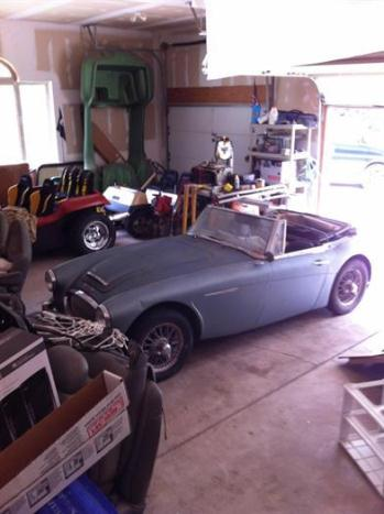 1963 Austin Healey 3000 MK II BJ7 - Gullwing Motor Cars, Inc., Astoria New York