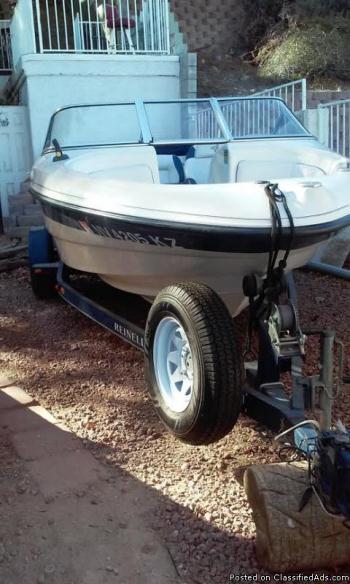 2002 Reinell 185 Bowrider-V6  4.3 Volvo Penta 18ft-Ski/Fishing Boat