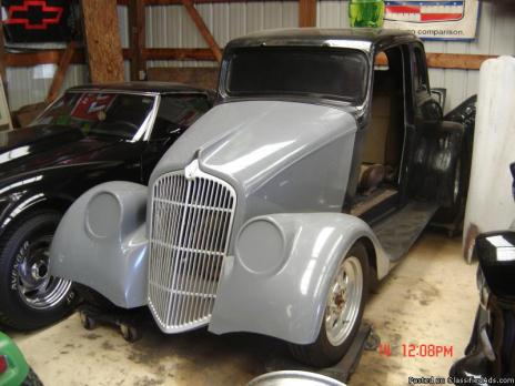 1933  WILLYS  2 DR  COUPE  PROJECT