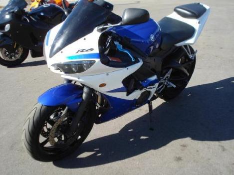 Blue yamaha r6 motorcycles for sale in phoenix arizona for Yamaha motor finance usa login