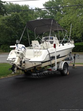 19' Center Console 1999 Wellcraft boat for sale