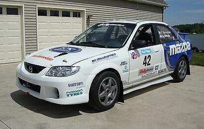 Mazda : Protege Rally Car Rally Car - Mazda Protege - Rally America, NASA Rallysport, CARS legal -  2WD