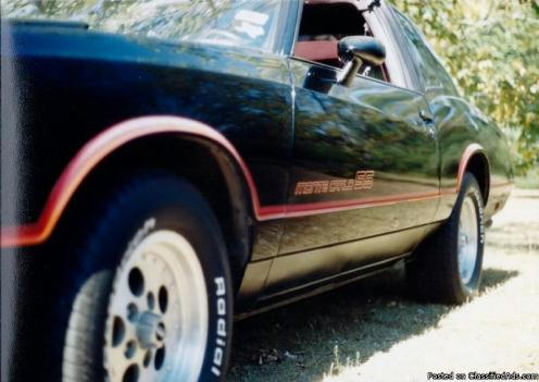 1985 Monte Carlo Super Sport T-Top