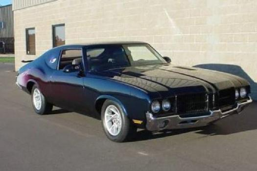1971 Oldsmobile Cutlass Supreme for: $53900