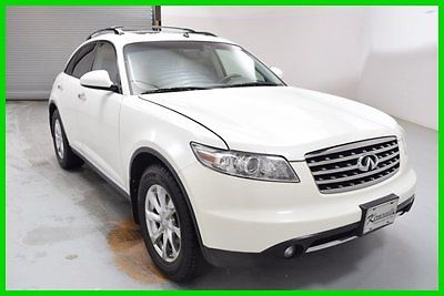 Infiniti : FX AWD V6 SUV Sunroof Leather Heated int Backup Cam FINANCING AVAILABLE!! 65k Miles Used 2008 Infiniti FX35 SUV Bluetooth 18