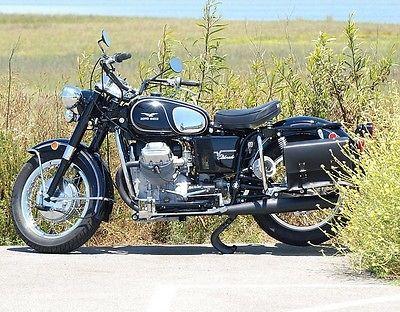 Moto Guzzi : Eldorado Restored 1973 Moto Guzzi Eldorado Police Bike With Friction Siren