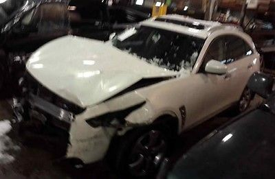 Infiniti : FX 35 AWD 2009 infiniti fx 35 awd repairable fixable wrecked damaged project save rebuilder