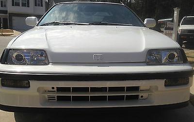 Honda : CRX dx 1990 honda crx