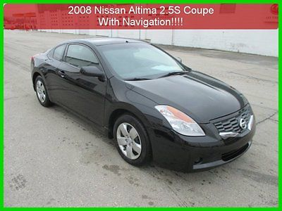 Nissan : Altima 2.5 S 2008 2.5 s used 2.5 l i 4 16 v fwd 1 owner clean carfax navigation