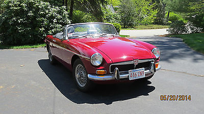 MG : MGB Roadster MGB