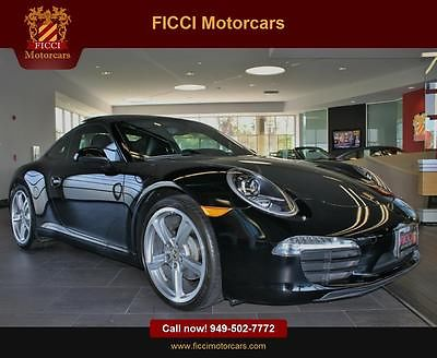 Porsche : 911 Carrera 1 owner carfax certified warr until 02 17 sport chrono plus glass roof