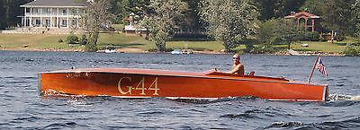 2011 Reets Boatworks 26ft, Custom Wood Boat, Hacker, Chris Craft, GarWood