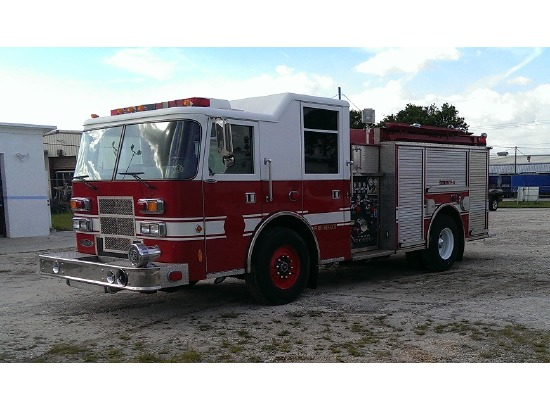 2000 Pierce CUSTOM PUMPER