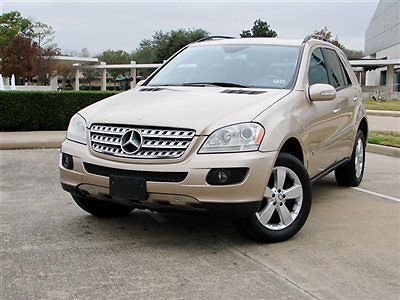 Mercedes-Benz : M-Class ML500 4MATIC 4dr 5.0L ML500 4MATIC NAVIGATION WOOD TRIM LTH HTD SEATS SNRF RUNS GR8!!