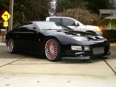 1990 Nissan 300ZX Black