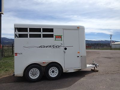 Horse trailer,used, 2006, Trails West, Adventure, great condition, low milage