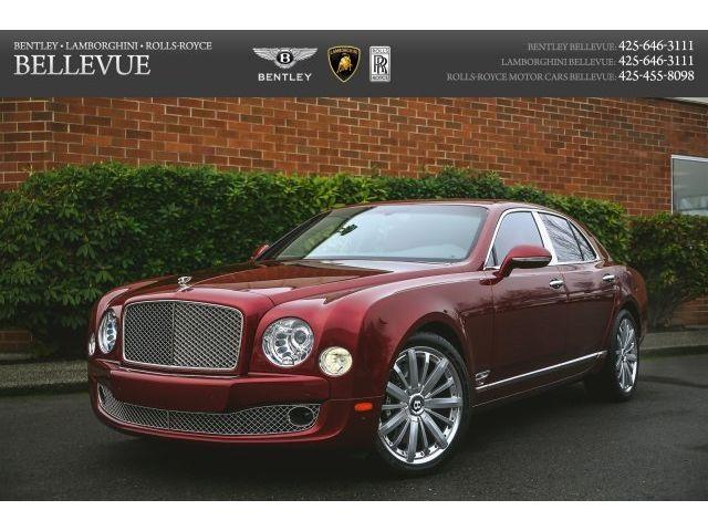 Bentley : Mulsanne Mulliner LA Auto Show car. $93k in options incl Mulliner, Entertainment & Premier specs