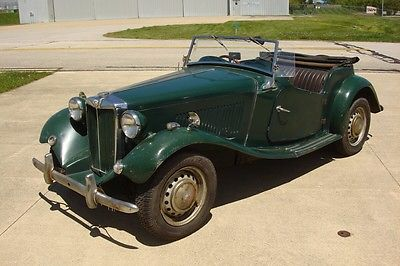 MG : T-Series 2 door 1953 mg td rare right hand drive barn find that runs drives