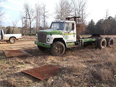 International Harvester : Other 2 door 1979 international twin screw truck