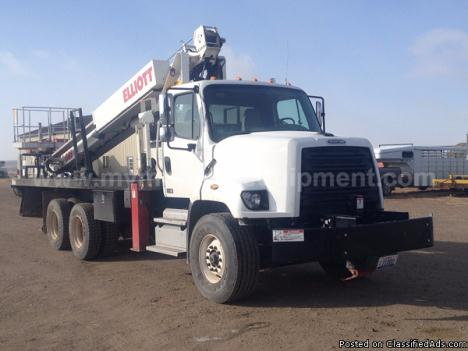 2013 Freightliner 90ft Elliott G85F Bucket Boom Truck – M031251