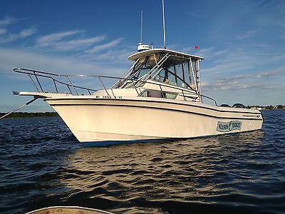 Grady White 272 Sailfish 1995, twin Yamaha 200's, fishing, cabin, head, low hour