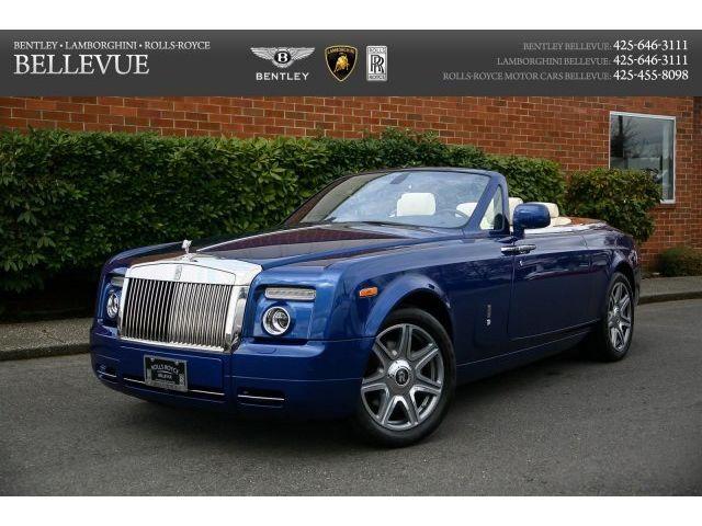 Rolls-Royce : Phantom Drophead Rolls-Royce Provenance Certified -- Teak Decking, Forged Wheels, $468,925 MSRP