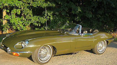 Jaguar : E-Type roadster Jaguar XKE Serie II 1969