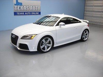 Audi : TT TTRS TURBO AWD WE FINANCE! 2013 AUDI TT RS PRESTIGE QUATTRO 6 SPEED NAV BOSE 16K MI TEXAS AUTO