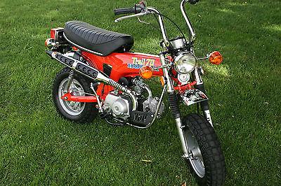 Nice Honda : CT NOS RESTORED HONDA CT70 ORIGINAL MUSEUM SHOW MINI TRAIL BIKE  MOTORCYCLE Z50