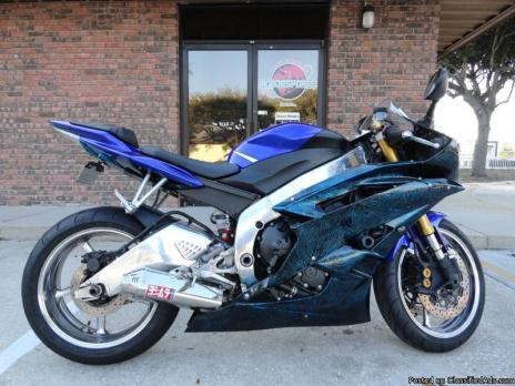 2006 yamaha r6 blue motorcycles for sale for 2006 yamaha r6 for sale